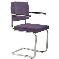 Zuiver Fotel RIDGE KINK RIB purpurowy 15A 1200051, 1200051
