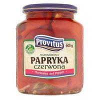 Marynowana papryka czerwona 600 g  marki Provitus