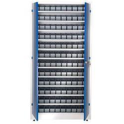 Aj produkty Szafa warsztatowa z pojemnikami, 120 pojemników, 1900x1000x400 mm