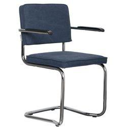 Zuiver Fotel RIDGE KINK VINTAGE marynarski niebieski 1200073