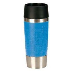 , termos - kubek do samochodu, travel mug, poj 0,36 litra, kolor niebieski - aqua, nr 513552 marki Emsa