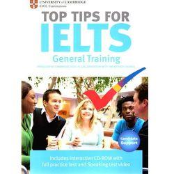 The Official Top Tips for IELTS General Training module + CD-ROM (ESOL) (lp) (ilość stron 92)