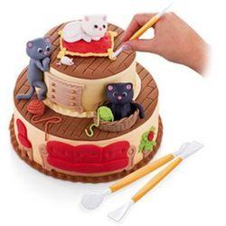 Akcesoria do dekoracji tortów Delicia Deco Tescoma 6 szt. ZAMÓW PRZEZ TELEFON 514 003 430, 632912