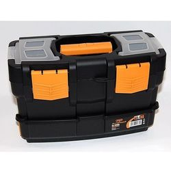 Plastikowe walizki na narzędzia z dodatkowym pojemnikiem marki Artplast