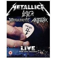 Metallica, slayer, megadeth, anthrax - live from sofia, bulgaria (deluxe), marki Universal music