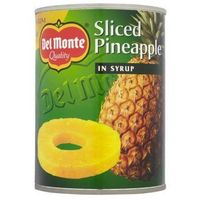 Develey Ananas plastry w syropie 570 g del monte