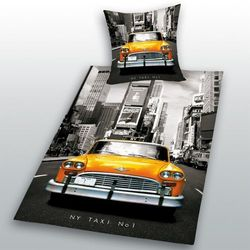 NOWY NEW YORK TAXI POŚCIEL AUTO TAKSÓWKA 140x200, 1309