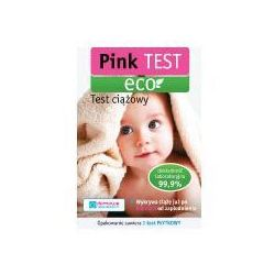 PINK ECO test ciążowy płytkowy 1szt