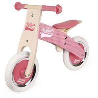 Janod  - rowerek biegowy różowy little bikloon 2+ (3700217332594)