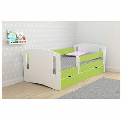 Łóżko dziecięce z szufladą Pinokio 3X 80x180 - zielone