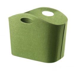 Kosz filcowy - gazetnik Cinas green