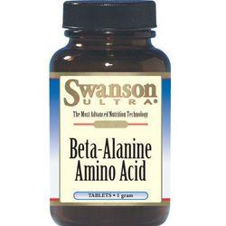 Beta alanina 1000mg 60kaps z kategorii Aminokwasy