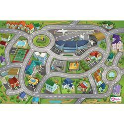 Domarex Dywanik dziecięcy Little Hippo Lotnisko, 75 x 112 cm