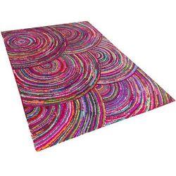 Beliani Dywan długowłosy kolorowy 160x230 cm kozan (4260580937660)
