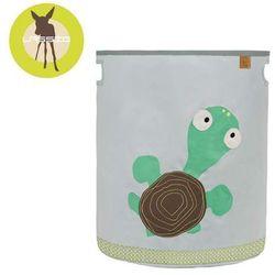 Lassig  casual label - pojemnik kosz na zabawki wildlife żółw