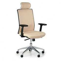Krzesło biurowe alta f, beżowe marki B2b partner