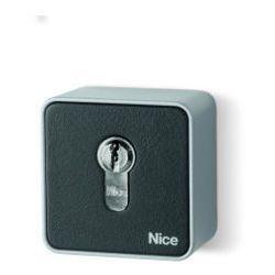 Przełącznik kluczykowy NICE natynkowy z wkładką europejską EKSEU z kategorii Pozostałe ogrodzenia i bram