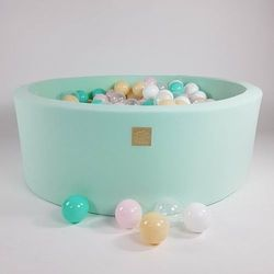 Pastelowy basen MINT + piłki do wyboru