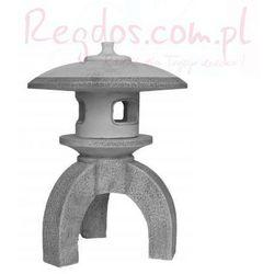 Lampa betonowa ogrodowa, lampa z nóżką 62cm