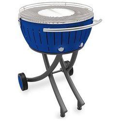 Grill bezdymny xxl® niebieski. wysyłka + 2.5kg węgla + rozpałka żelowa gratis. 14 dni na zwrot! marki Lotusgrill
