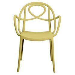 Krzesło ogrodowe Green Etoile P żółte, GEP-zolte