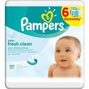 Pampers Chusteczki Baby Fresh Clean 6pack 6x64 szt (384 szt.) (4015400439295)