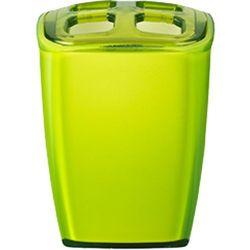 Wenko pojemnik na szczoteczki neon, zielona, 7x6,5x10 cm