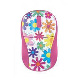 Trust Primo Wireless Mouse - pink flowers - produkt w magazynie - szybka wysyłka!