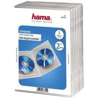 Pudełko  dvd double box przezroczysty (5 sztuk) marki Hama