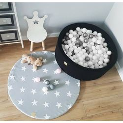 Meow Okrągły dywanik mata do pokoju dziecięcego
