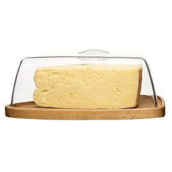 Deska do sera z pokrywą oval oak marki Sagaform