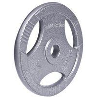 Obciążenie olimpijskie stalowe  hamerton 20 kg - 20 kg marki Insportline