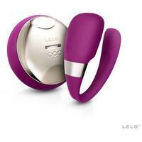 Wibrator LELO Tiani 3 dla Par Ciemny Róż | 100% DYSKRECJI | BEZPIECZNE ZAKUPY
