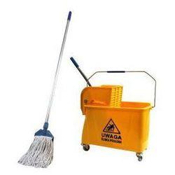 Feniks Profesjonalny zestaw sprzątający wózek 20l dwukomorowy + mop kentucky (5906948253933)