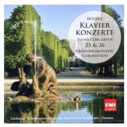 Mozart: Klavier Konzerte Nr 25 & 26 - Symphonieorchester des Bayerischen Rundfunks, Christian Zacharias - spra