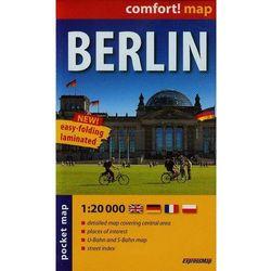 ExpressMap Berlin laminowany plan miasta 1:20 000 mapa kieszonkowa, książka z kategorii Mapy i atlasy