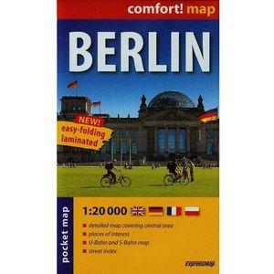 ExpressMap Berlin laminowany plan miasta 1:20 000 mapa kieszonkowa