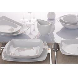 Ćmielów / akcent Chodzież biały akcent serwis obiadowy 44/12 0001