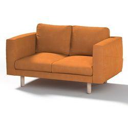 pokrowiec na sofę norsborg 2-osobową, kakao, sofa norsborg 2-osobowa, etna marki Dekoria