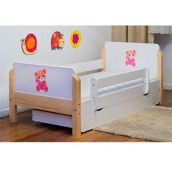 Łóżko dziecięce drewniane miś z sercem kolory negocjuj cenę marki Kocot-meble