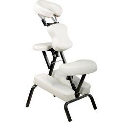 Profesjonalny fotel do masażu MOVIT - biały, kolor biały