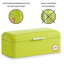 Zeller Chlebak metalowy, pojemnik na chleb, pieczywo, bułki - chlebak 43x23x17 cm, rubber  (4003368272979)