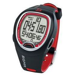 Zegarek / Stoper Sigma SC 6.12 - czarno/czerwony - sprawdź w wybranym sklepie
