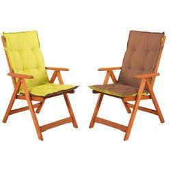Poducha barbados nr 10 dwukolorowa na krzesło drewniane marki Home&garden