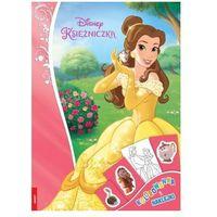 Disney Księżniczka Kolorowanka i naklej - Praca zbiorowa
