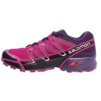 Salomon SPEEDCROSS VARIO Obuwie do biegania Szlak deep dalhia/black/cosmic purple (0889645059525)