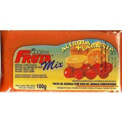MIX Acerola z Pomarańczą miąższ (puree owocowe, sok z miąższem) bez cukru (2275801010011)