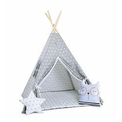Sowkadesign Zestaw, namiot tipi i kosz na zabawki - królicza łapka
