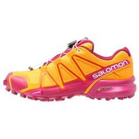 Salomon SPEEDCROSS 4 Obuwie do biegania Szlak bright marigold/sangria/rose violet