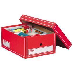 pudło archiwizacyjne a4 350x255x155mm czerwony, 10 sztuk marki Pressel